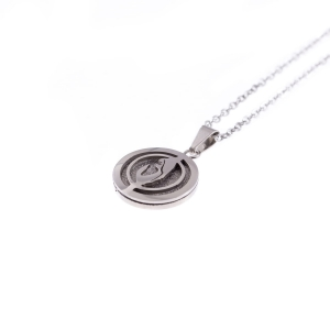 Collier - Mère de Dieu - Stainless Steel
